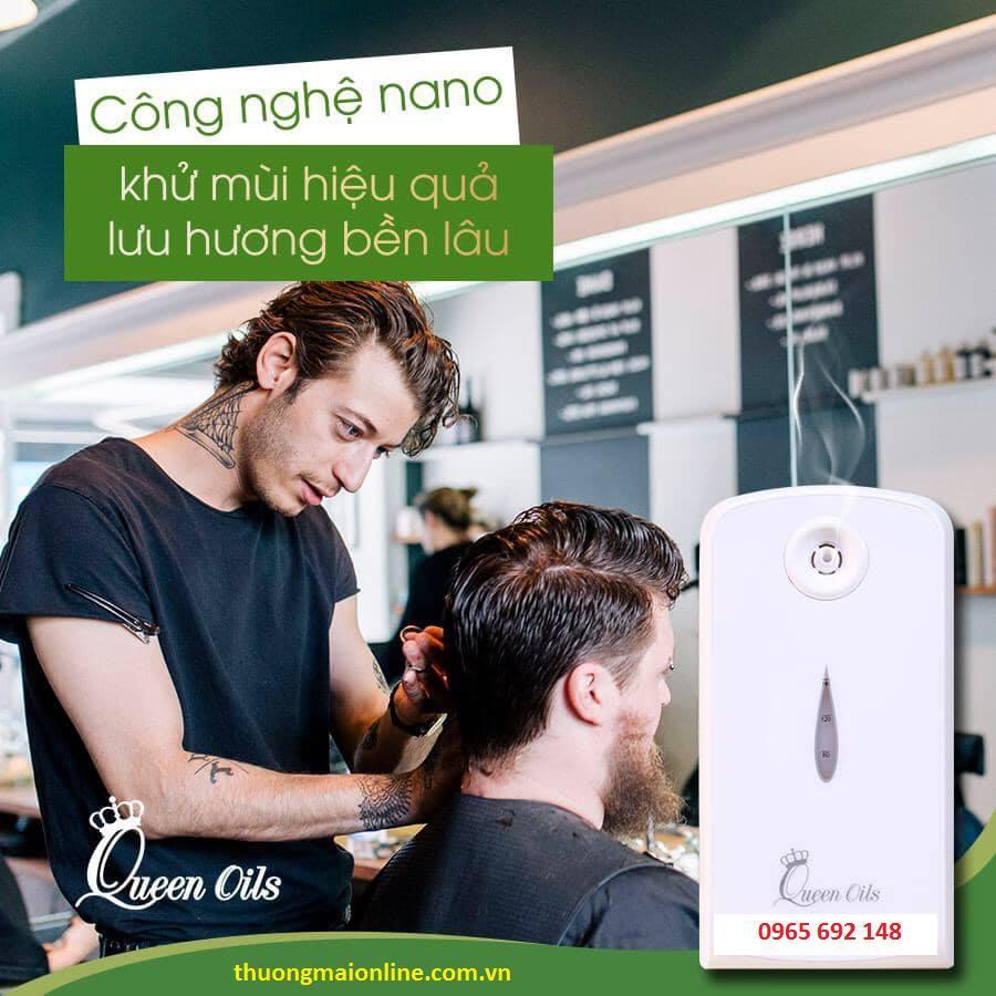 Để giải quyết nỗi lo giải pháp tạo mùi thơm cho salon tóc