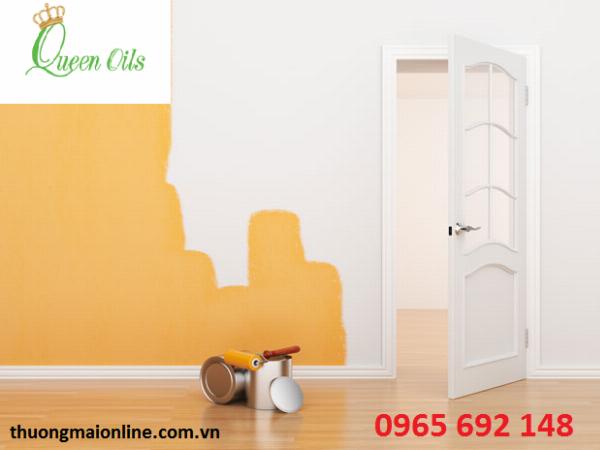 Sử dụng tinh dầu có phải là cách khử mùi sơn nhà mới hiệu quả?